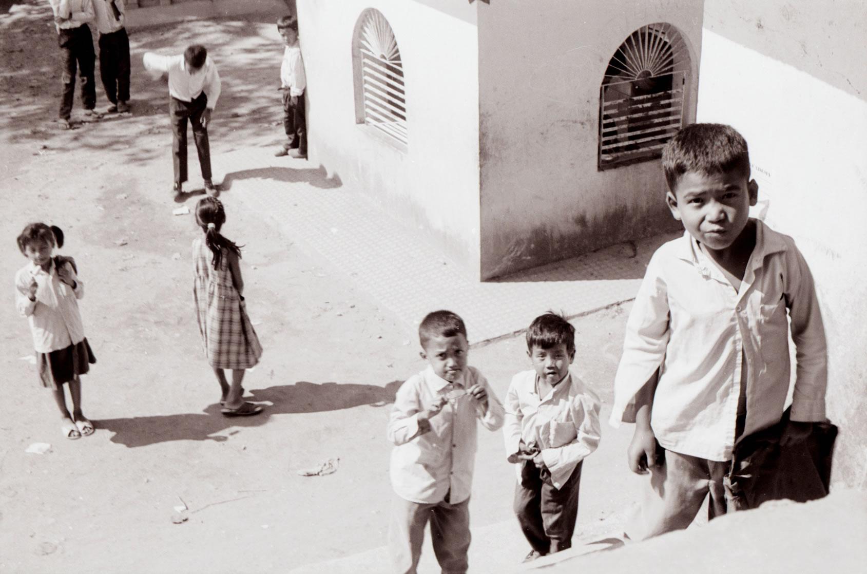 school children Kathmandu