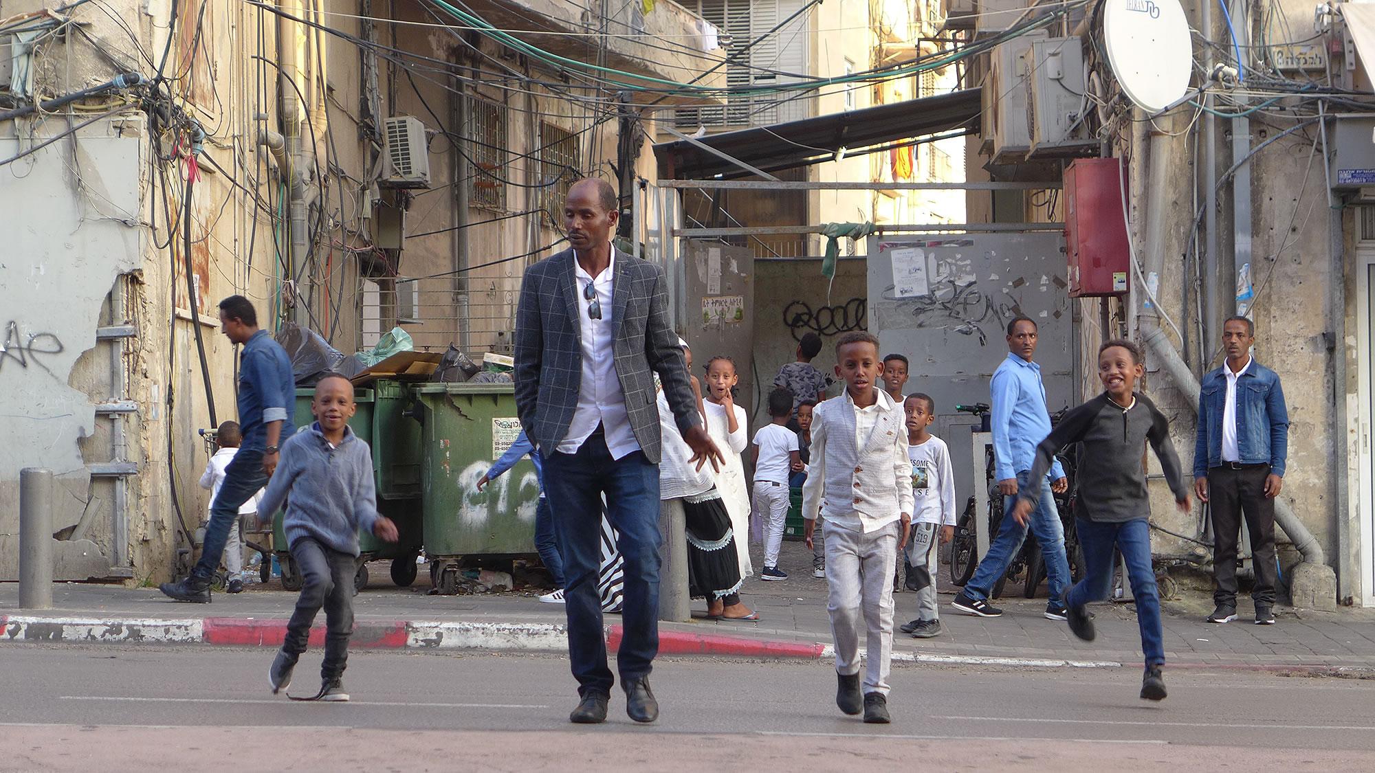 Refugees Tel Aviv